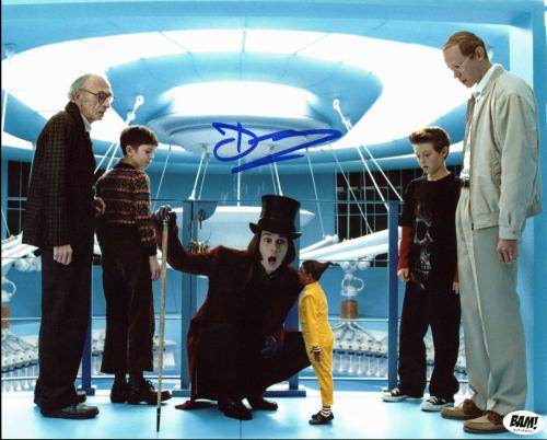 Deep Roy Willy Wonka & The Chocolate Factory Signed 8x10 Photo