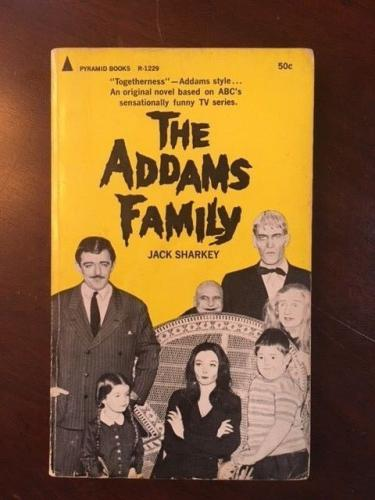 1965, The Addams Family, Paperback Book (Scarce)