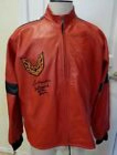 Burt Reynolds Signed Smokey Bandit Real Leather Jacket W Inscription Bas Cert #2