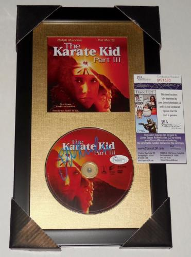 Ralph Macchio Autographed Karate Kid Dvd Cover (framed & Matted) - Jsa Coa!