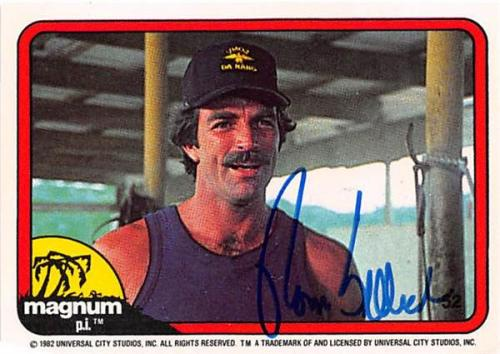 Autographed Tom Selleck Memorabilia Signed Photos Other Items