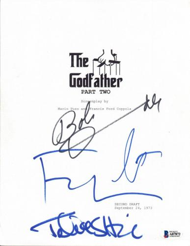 The Godfather Memorabilia: Autographed Pictures, Authentic Signed Props