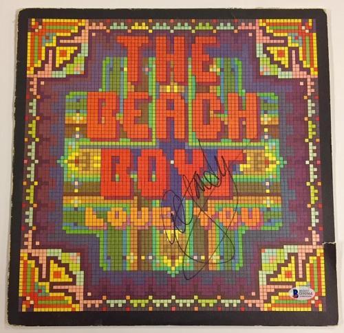 Beach Boys AL JARDINE Autograph Signed LOVE YOU Album cover w/ Beckett BAS COA