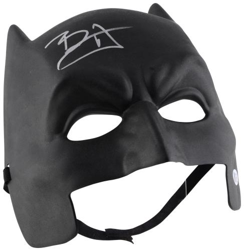 Ben Affleck Batman Autographed Replica Mask - BAS