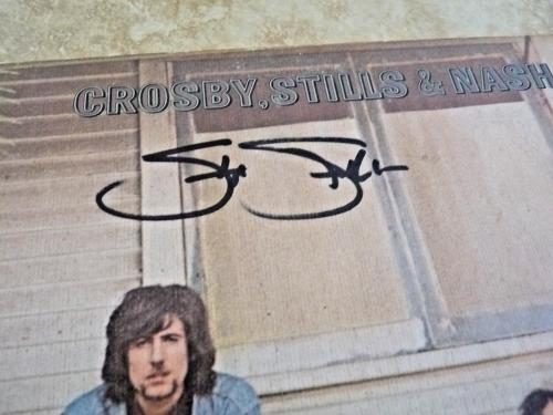 Stephen Stills CSN Signed Autographed Record Album LP PSA Certified READ