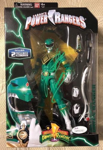 Jason David Frank Signed  Green Ranger Power Rangers Legacy Figure JSA COA 3