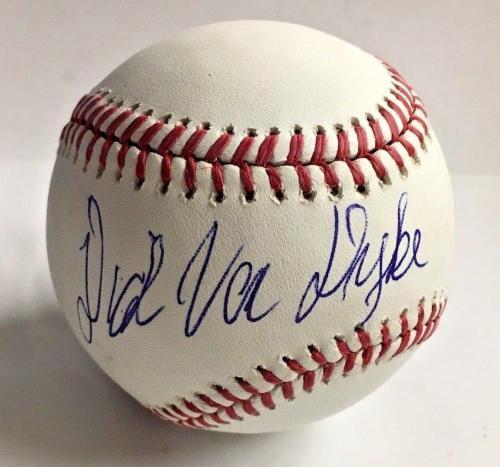 DICK VAN DYKE Signed BASEBALL MARY POPPINS CHITTY CHITTY BANG BAS COA AUTO H