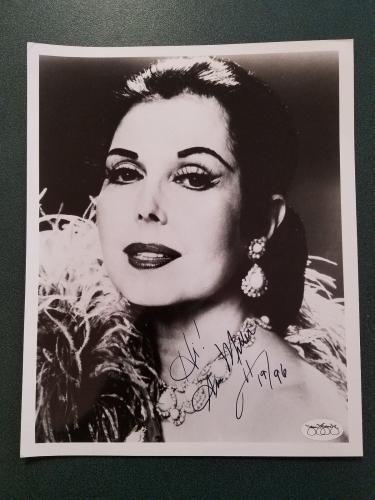 Hot Sale Ann Miller Signed Index Card Signature Autographed Auto Entertainment Memorabilia Autographs-original