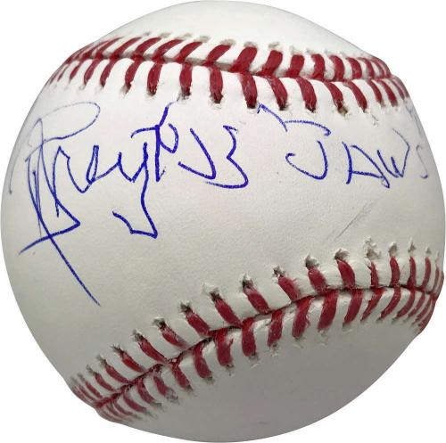 Richard Dreyfuss Signed Autographed OML Baseball w/ Jaws Inscription JSA