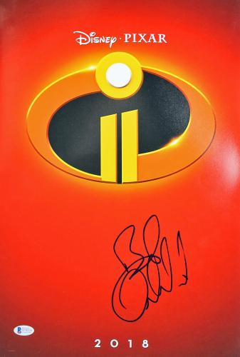 Bob Odenkirk The Incredibles 2 Signed 12x18 Photo BAS #D78226