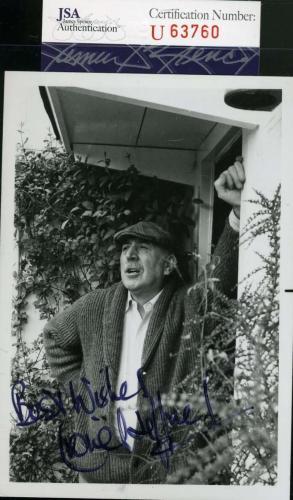 Lionel Jeffries Jsa Coa Hand Signed 4x5 Photo Autograph Chitty Chitty Bang Bang