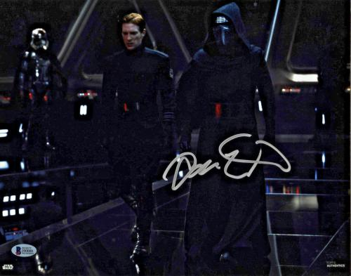 Adam Driver Signed Star Wars The Last Jedi 11x14 Photo - Kylo Ren Beckett BAS