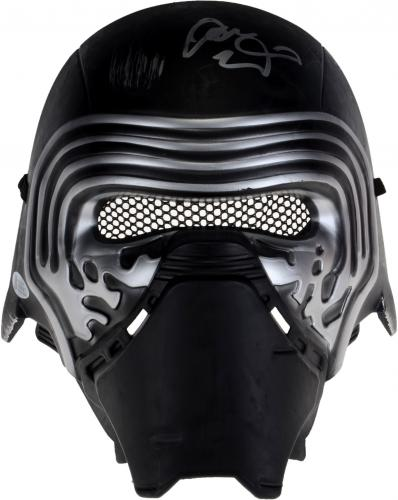Adam Driver Star Wars The Last Jedi Autographed Replica Mask - BAS