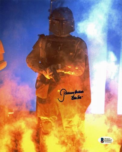 "Jeremy Bulloch Star Wars ""Boba Fett"" Signed 8x10 Photo Autographed BAS 8"