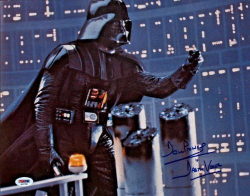 Dave Prowse Signed Star Wars Darth Vader 11x14 Photo - PSA/DNA 2
