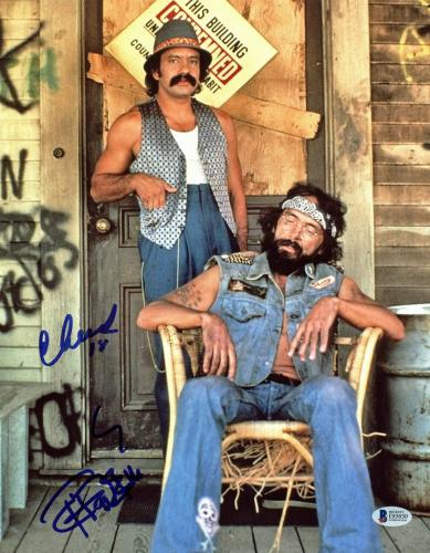 Movies Cheech And Chong Signed Up In Smoke 11x14 Photo In Person Autograph Proof Products Hot Sale Autographs-original