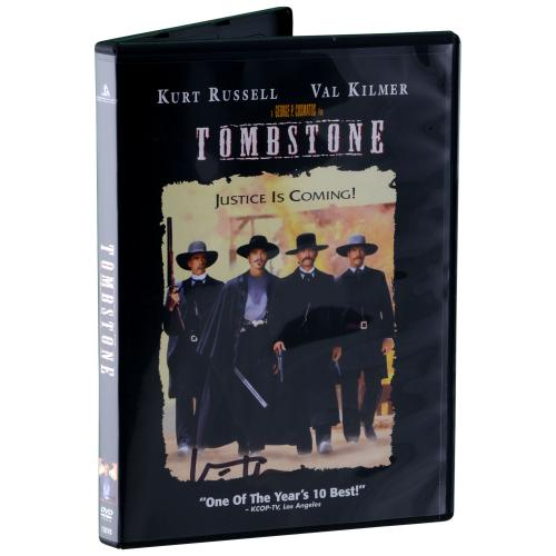 Val Kilmer Tombstone Autographed DVD - BAS