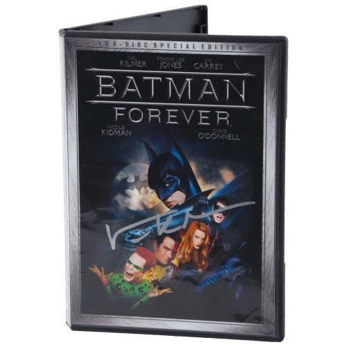 Val Kilmer Batman Returns Autographed DVD - BAS