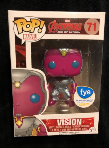 Vision Avengers Age Of Ultron FYE Exclusive Funko Pop Figure