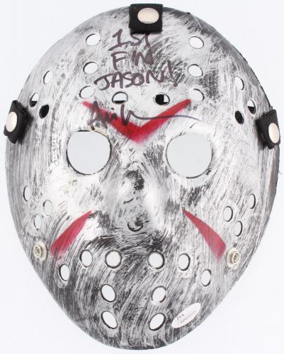 Ari Lehman Autographed Jason Voorhees Mask (friday The 13th) - Jsa Coa!