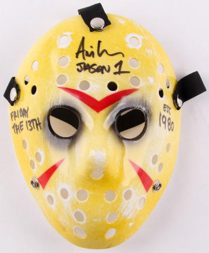 Ari Lehman Autographed Jason Voorhees Mask (friday The 13th) - Bas Coa!