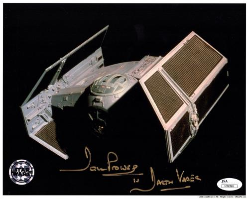 DAVE PROWSE Signed Darth Vader STAR WARS 8x10 Official Pix Photo JSA #U99996
