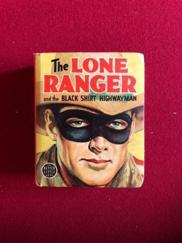 "1939, ""The LONE RANGER"" Big / Little Book (Scarce)"