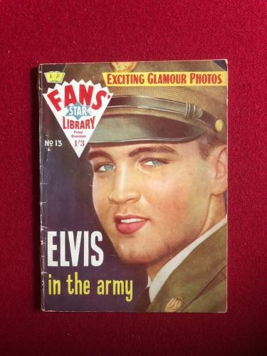 "1959, Elvis Presley, ""Fans' Star Library"" (Elvis Army) Scarce"