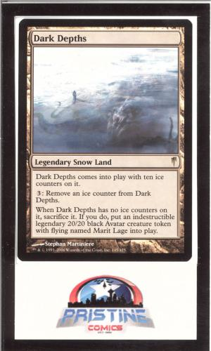 Mtg Magic The Gathering Dark Depths Coldsnap X1