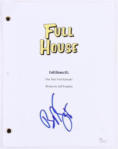 "Bob Saget Autographed ""first Episode"" Script (full House) - Jsa Coa!"
