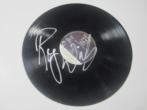Roger Waters Signed Pink Floyd The Wall Vinyl Album LP Autographed JSA LOA AUTO