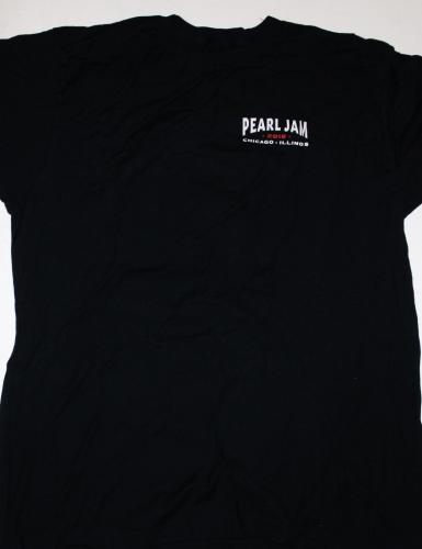 PEARL JAM THE HOME SHOWS SHORT SLEEVE SHIRT XL SEATTLE CHICAGO BOSTON Black