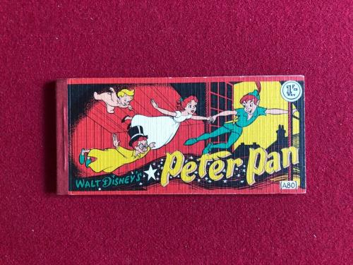 "1953, Walt Disney, ""Peter Pan Flip Book"" (Scarce)"