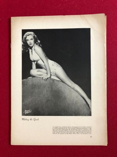"1950, Marilyn Monroe, ""PIN-UPS"" Magazine (Full Magazine) Scarce"