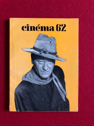 "1962, John Wayne, ""Cinema 62""  Magazine (Scarce) (Monroe)"