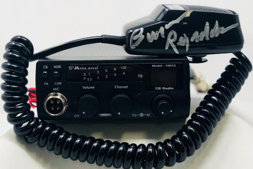 Burt Reynolds Autographed Smokey and the Bandit CB Radio Signed - JSA Spence