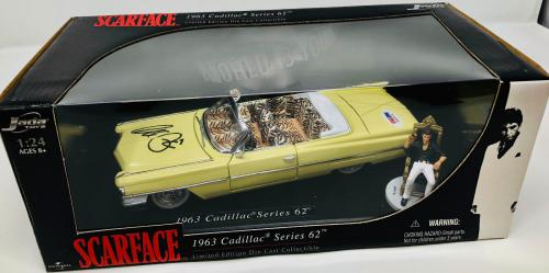 Al Pacino Autographed Scarface Signed Die Cast Car 1:24 Scale - PSA/DNA COA