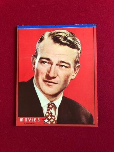 "1940's, John Wayne, ""Un-Used"" Writing Tablet  (Scarce)"