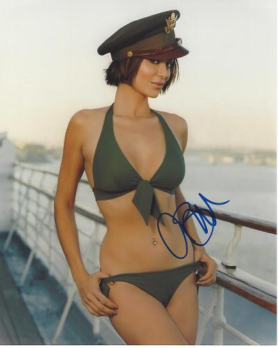 Autographed Catherine Bell Memorabilia Signed Photos Other Items