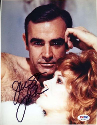 JILL ST JOHN PSA DNA Cert Autograph 8x10 James Bond Photo Hand Signed