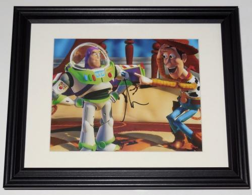 Tim Allen Autographed 8x10 Color Photo (framed & Matted) - Toy Story!
