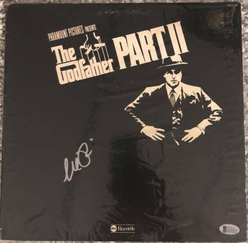 Al Pacino Signed The Godfather II Record Album Corleone- Auto Beckett BAS L31919