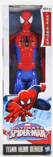 Stan Lee Marvel Signed Spider-Man Titan Hero Series Action Figure PSA #6A20980