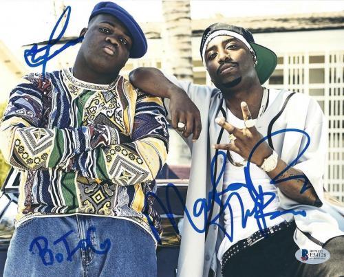 Autographed Notorious B I G  Memorabilia: Signed Photos