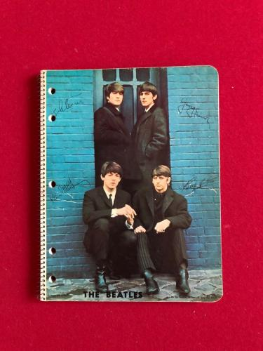 "1964, BEATLES, ""Un-Used"" Note Book (Scarce / Vintage)"