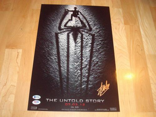 Stan Lee Signed The Untold Story Movie Poster Beckett BAS COA Auto. Marvel 1A
