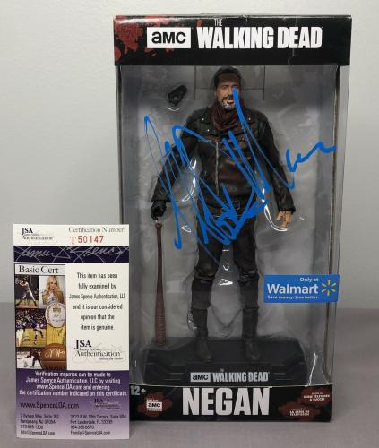 Jeffrey Dean Morgan SIGNED Negan Walmart Figure w/ JSA COA ~ The Walking Dead