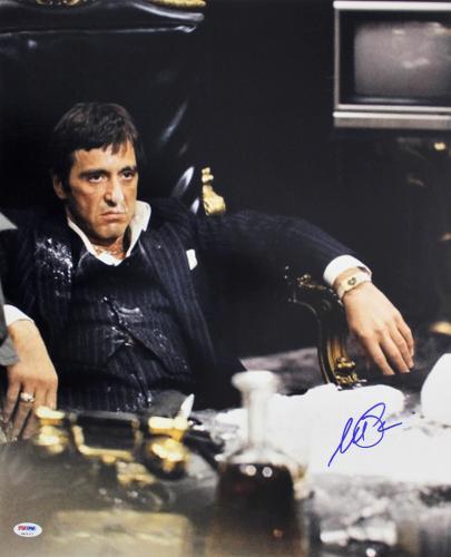 Al Pacino Scarface Signed 16x20 Photo Auto Graded Gem 10! PSA/DNA Itp #6A31227