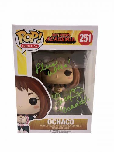 Luci Christian Autograph FUNKO POP My Hero Academia Ochaco Signed JSA COA