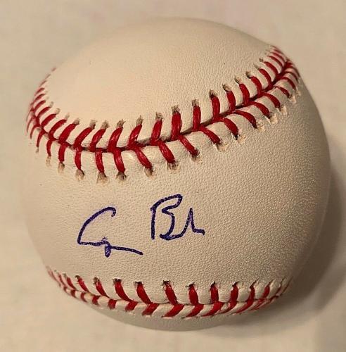 George H W Bush Signed Official MLB Baseball 41st President BAS Beckett A00870